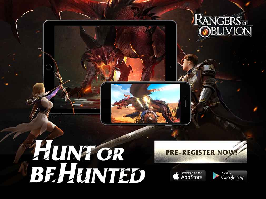 MMORPG Rangers of Oblivion brings monster hunting to mobile this month