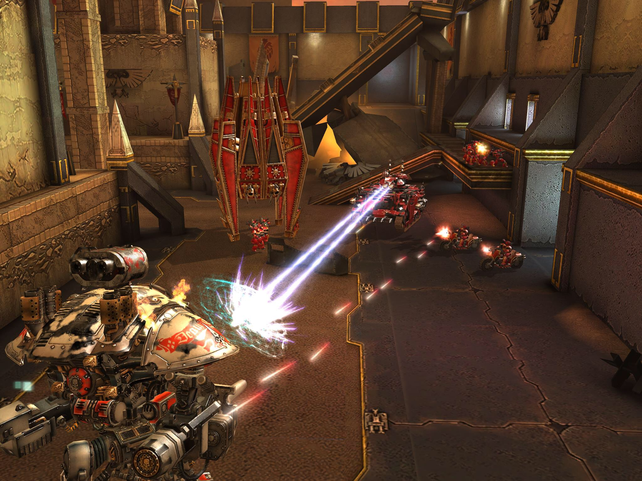 Warhammer 40,000: Freeblade will stomp and smash onto iPad and iPhone this month