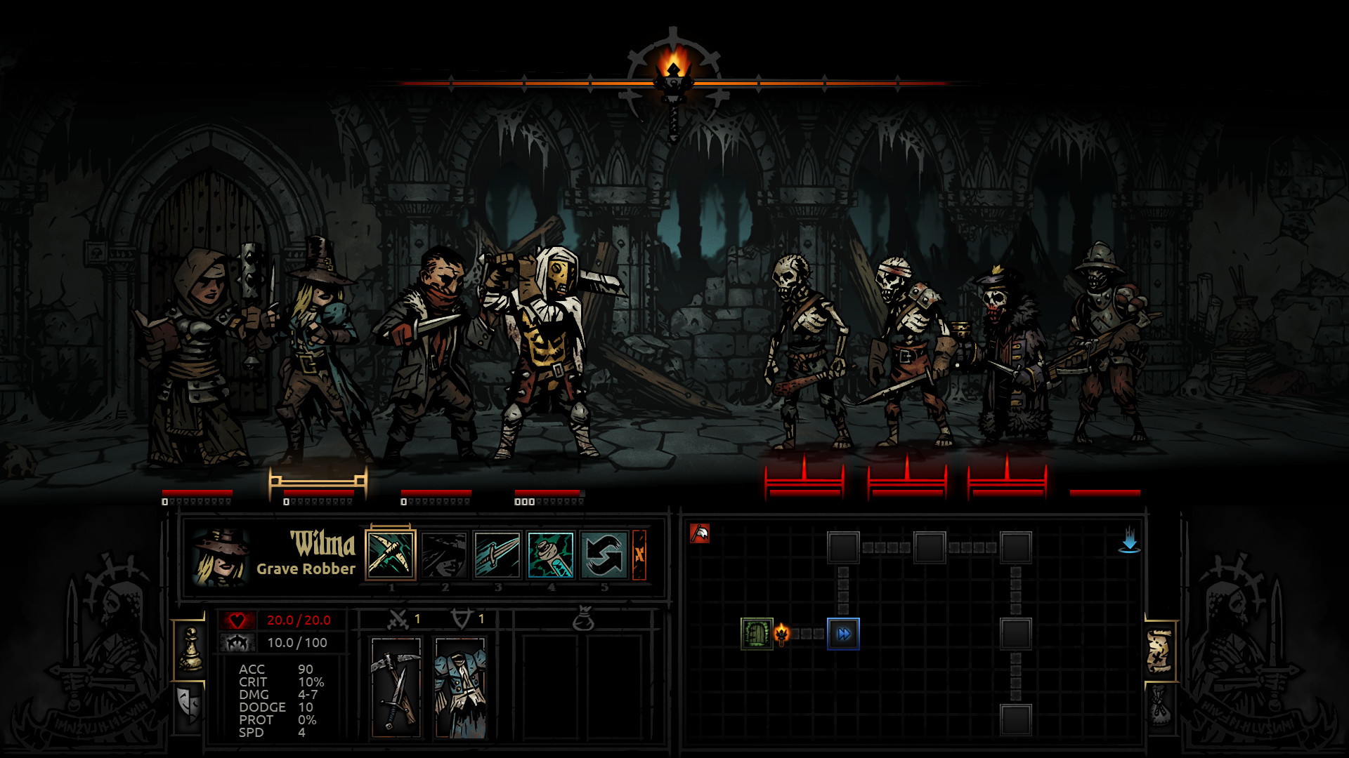 Darkest Dungeon brings the psychological dangers of dungeon crawling to iPad later this month