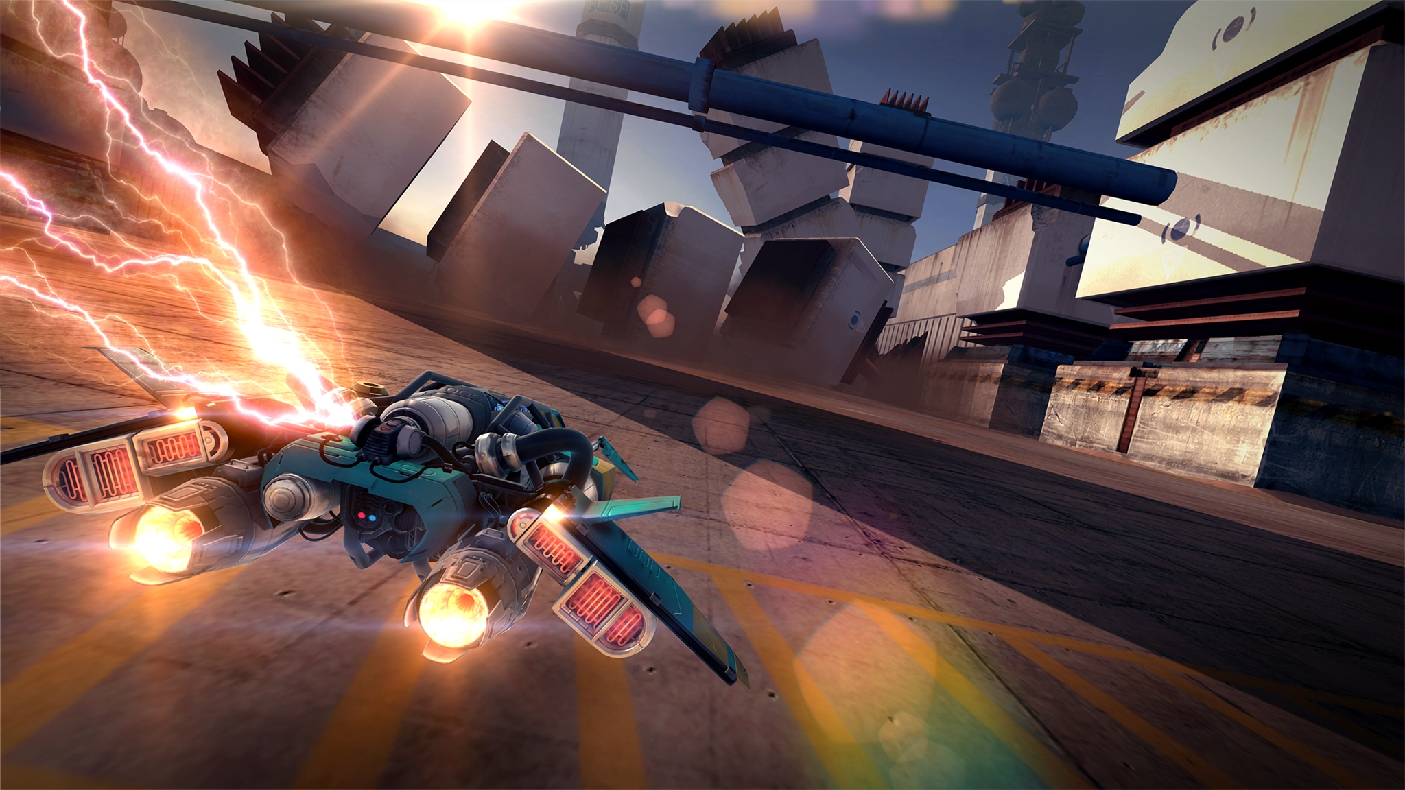 Out at midnight: Breakneck is a high-speed endless racer set in an alien-occupied world