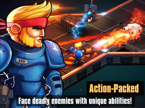 [Update] Out at midnight: 4-player online co-op on offer in Meltdown for iPhone and iPad