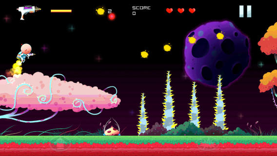 Check out cutesy shooter DOT Space Hero for free via the newly released lite version