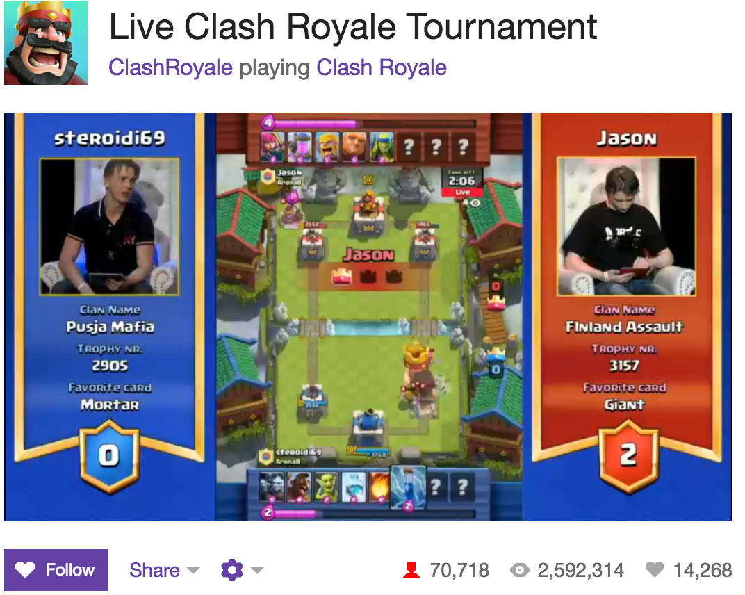 ... Clash Royale tournament in Helsinki | Clash Royale news | Android