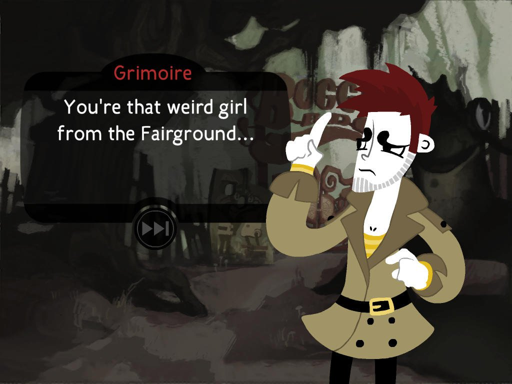 Detective Grimoire is a gorgeous-looking point-and-click adventure for iOS and Android