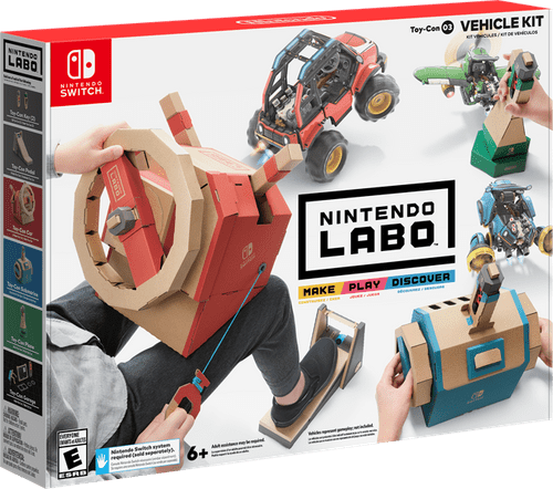 Nintendo Labo Vehicle Kit Switch review - The best cardboard kit so far