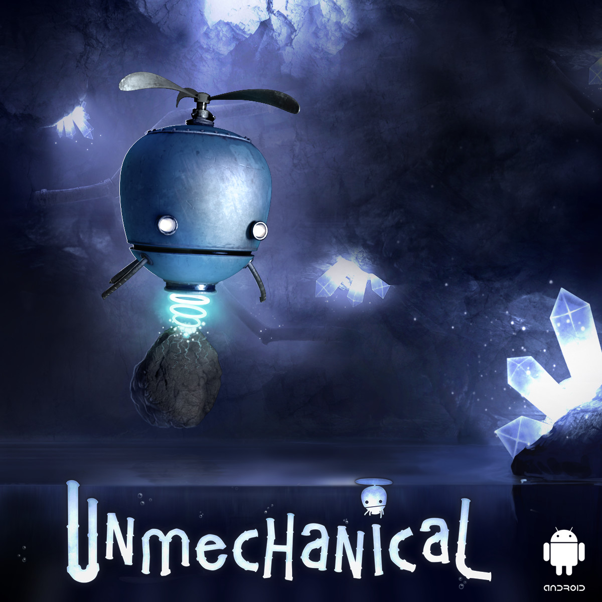 Unmechanical, the Unreal powered robotic physics puzzler, is set to hit Android next week