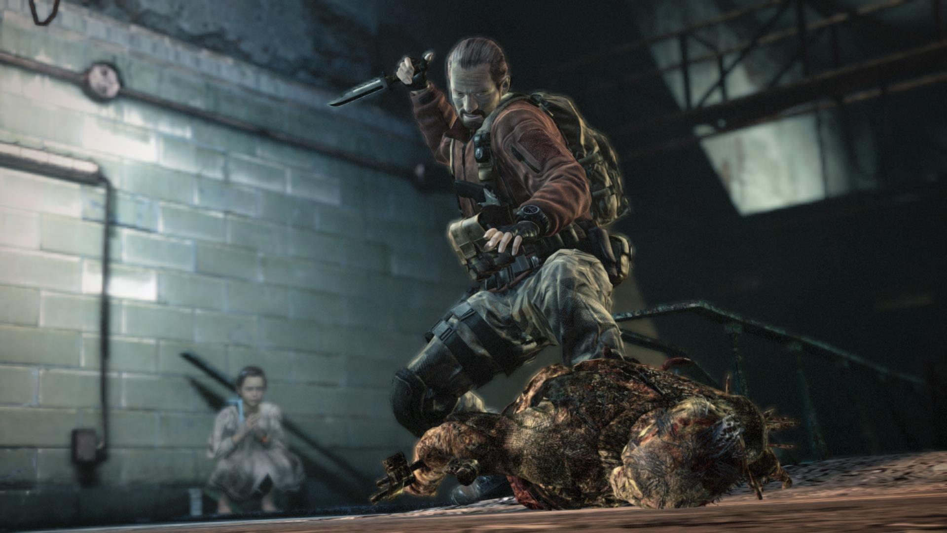 Resident Evil Revelations 2 is out now on Vita, but looks a little ropey and needs a 900MB patch