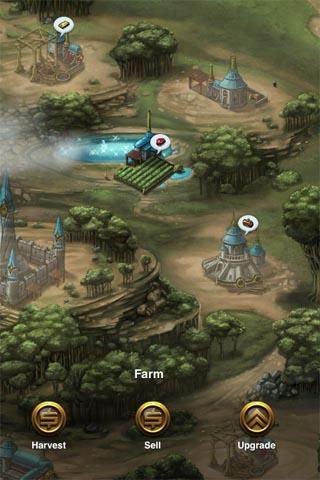 CastleCraft update adds We Rule style harvesting