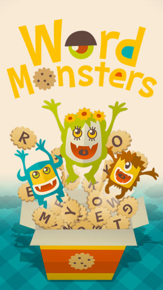 Word Monsters is a jolly-looking free-to-play social word game out now on iOS