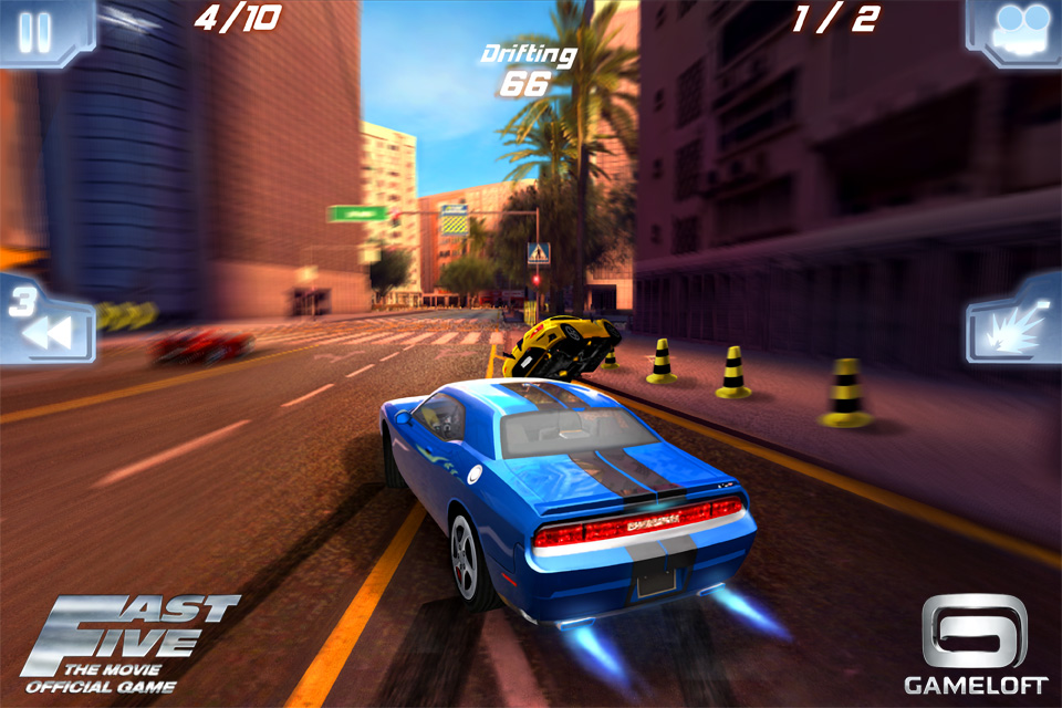 Fast Five: The Movie Official Game
