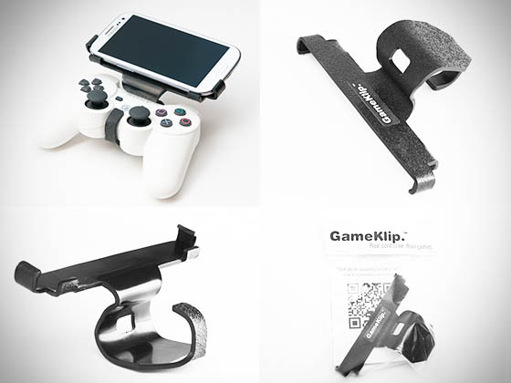 GameKlip brings your Android phone and PlayStation 3 controller together