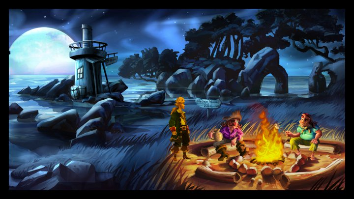 Monkey Island 2 for iPad drops its price anchor to £1.19 / $1.99