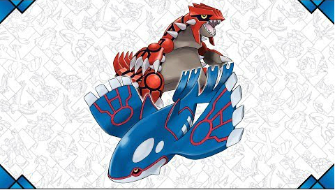 Kyogre and Groudon are the Legendary Pokemon of the month