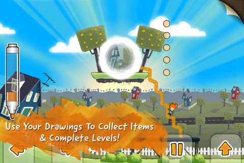 Physics-based puzzler Max and the Magic Marker out now for iOS