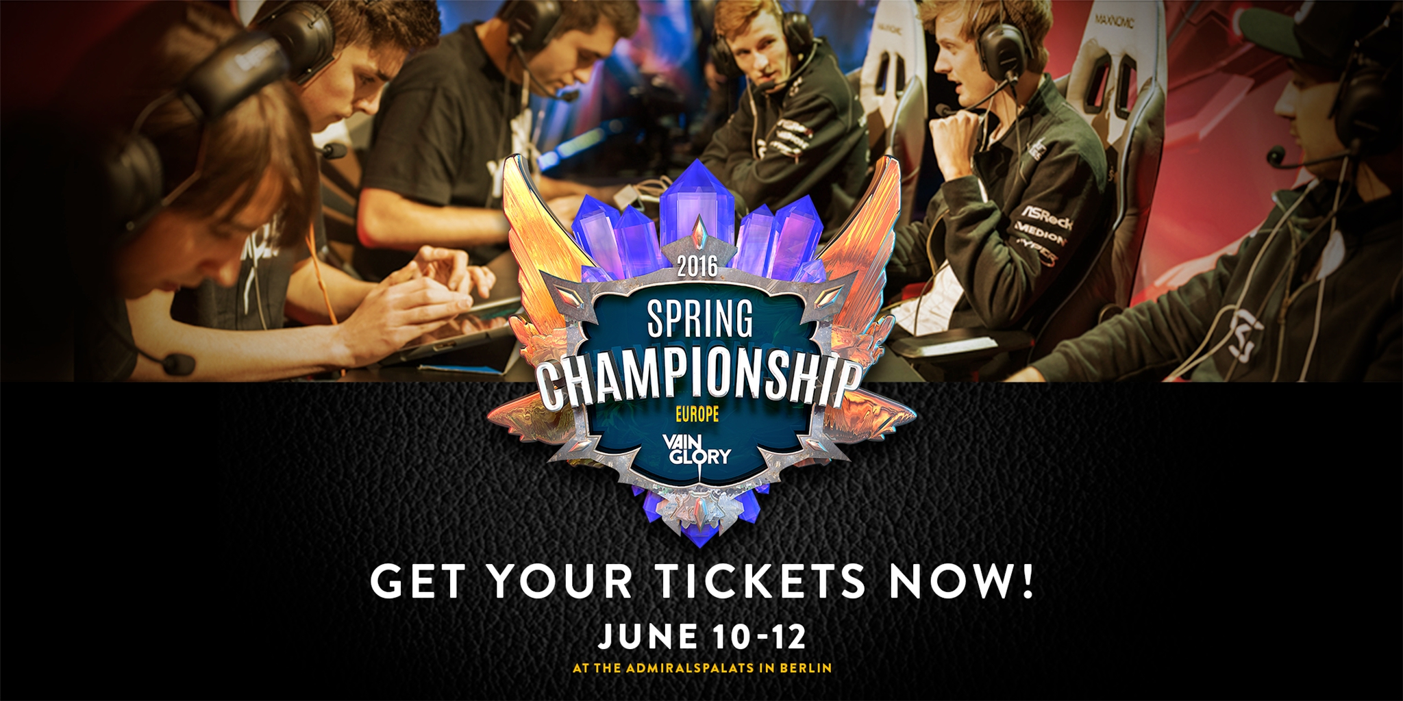 Vainglory Spring Season Championships going to Hollywood and Berlin in June