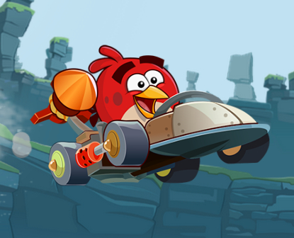 The complete beginner's guide to Angry Birds Go!