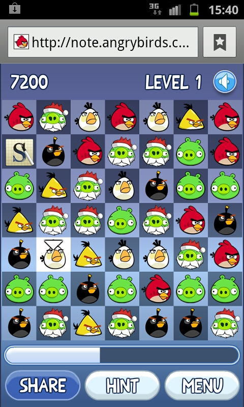 UPDATE: Win Samsung Galaxy products today on Angry Birds advent challenge for Chrome