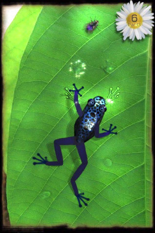 Free iPhone and iPad game: Ancient Frog