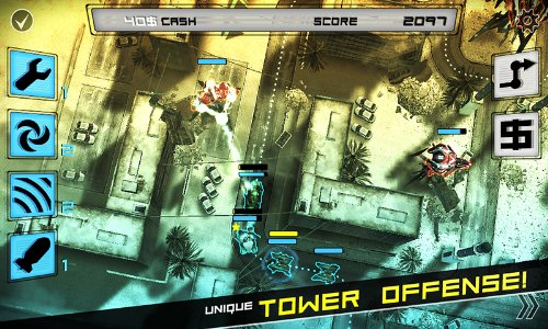 Award-winning 'tower offence' game Anomaly: Warzone Earth lands on the Amazon Appstore
