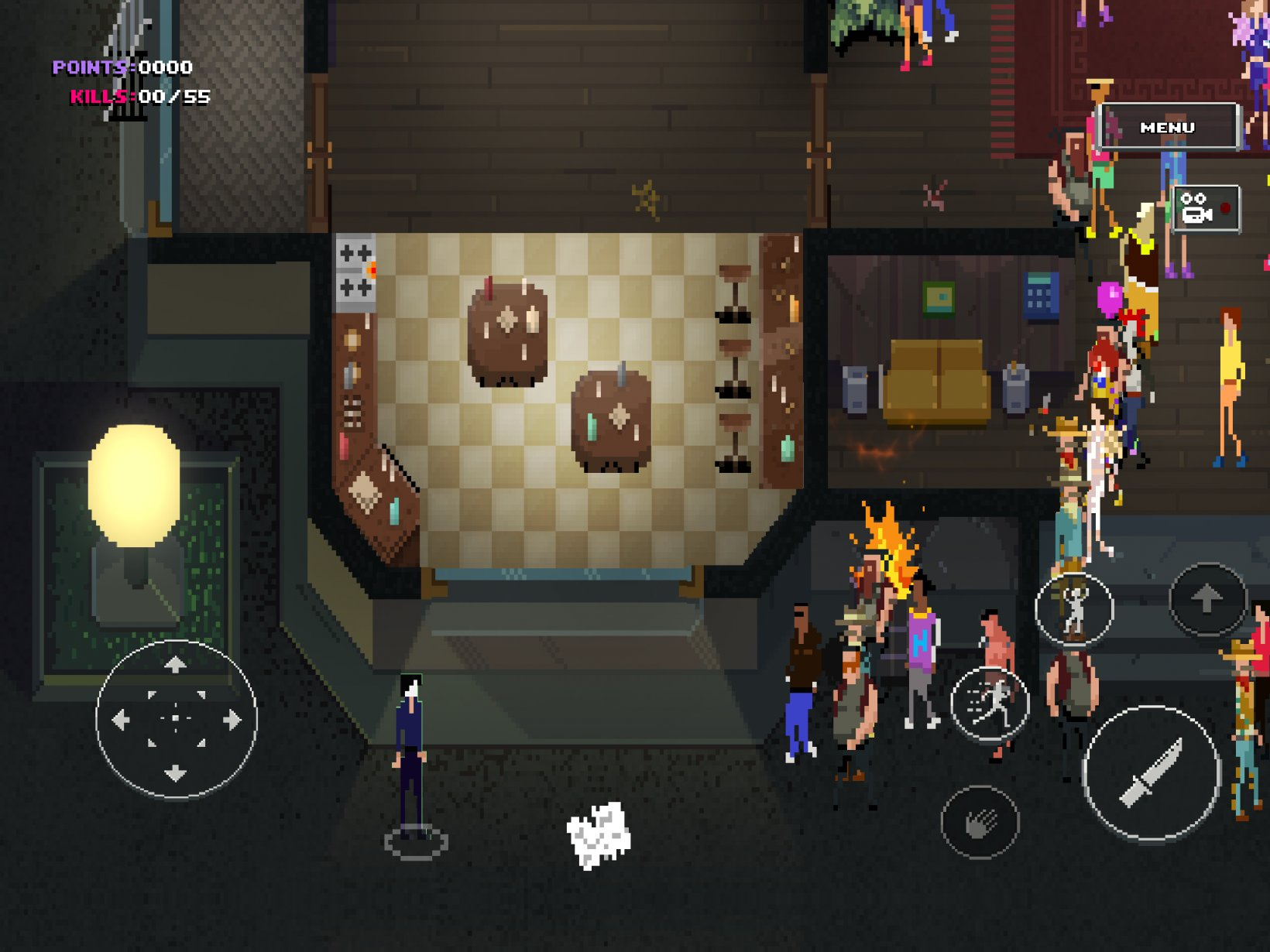 Party Hard Go review - It's Party Hard, but on the go