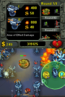 Fieldrunners DS out now in US, coming to Europe in March