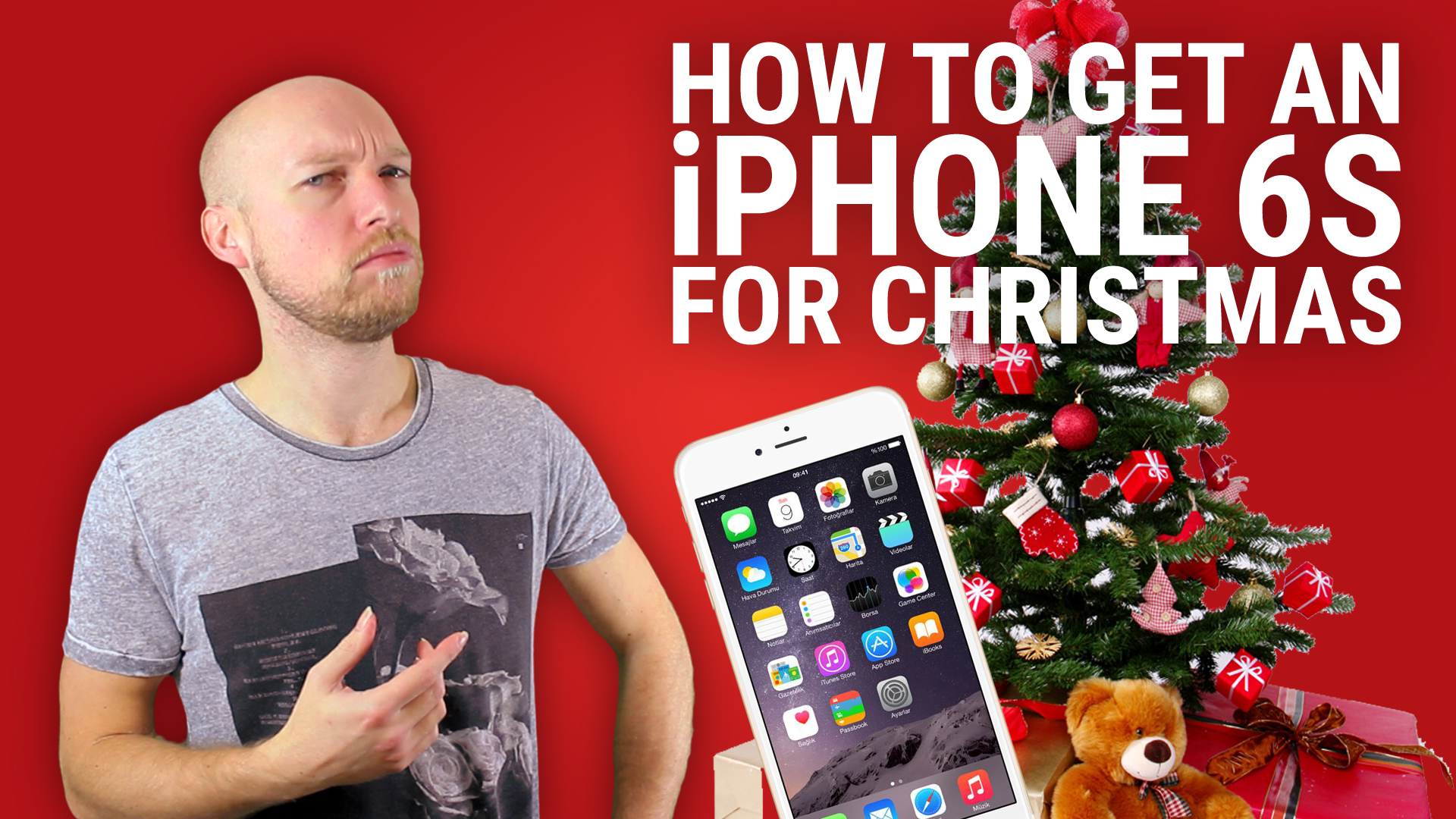 How to get an iPhone 6S for Christmas