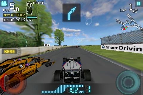 BMW Sauber F1 Team Racing 09   Articles   Pocket Gamer