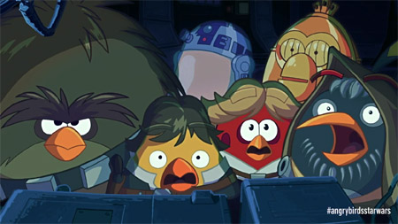 Making the Angry Birds Star Wars cinematic trailer