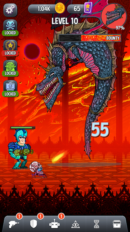 Tap Busters: Galaxy Heroes review - A tapper that's just a little bit tapped out