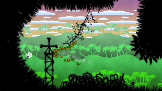 Physics-based puzzler Leaf on the Wind may start off relaxing but soon turns the heat up