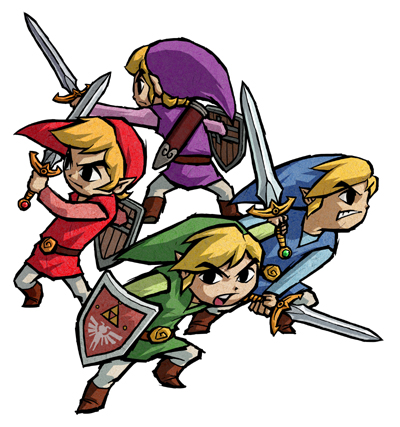The Legend of Zelda: Four Swords Anniversary Edition released for free on DSi and 3DS