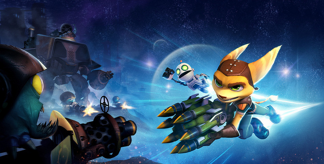 This week on the PS Vita Store - Men's Room Mayhem, Ratchet & Clank: Full Frontal Assault, and Passing Time