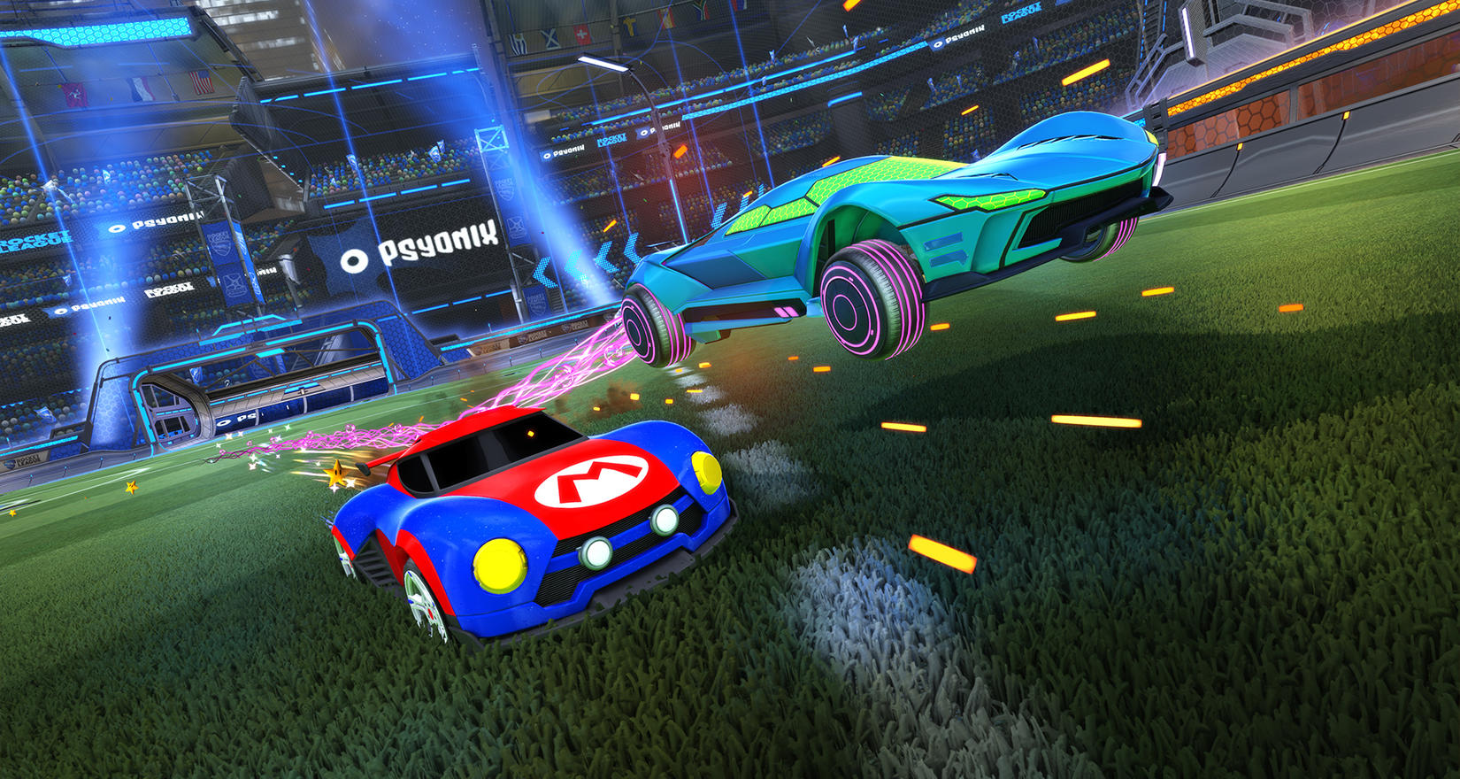 Rocket League's Tournaments Update has some special treats for Switch players