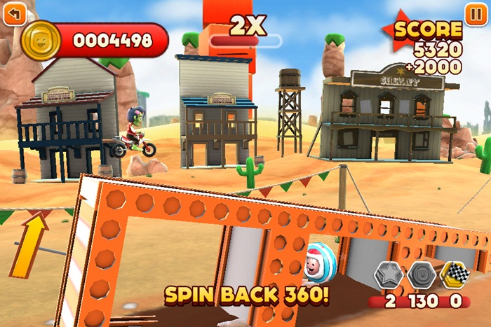 Joe Danger drops price by 66 percent to celebrate major 1.0.3 update