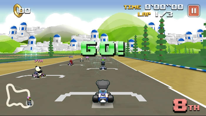 Kickstart this: Super World Karts GP brings the Mario Kart experience to mobile because Nintendo won't