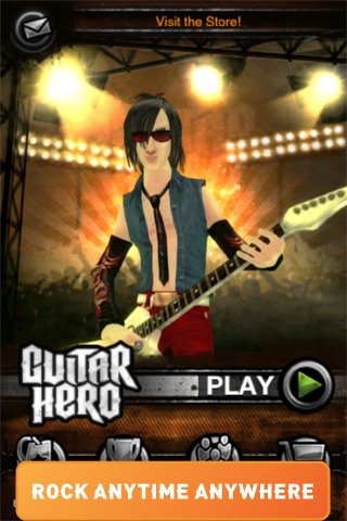 Interpol song pack now available on Guitar Hero for iPhone and iPod touch