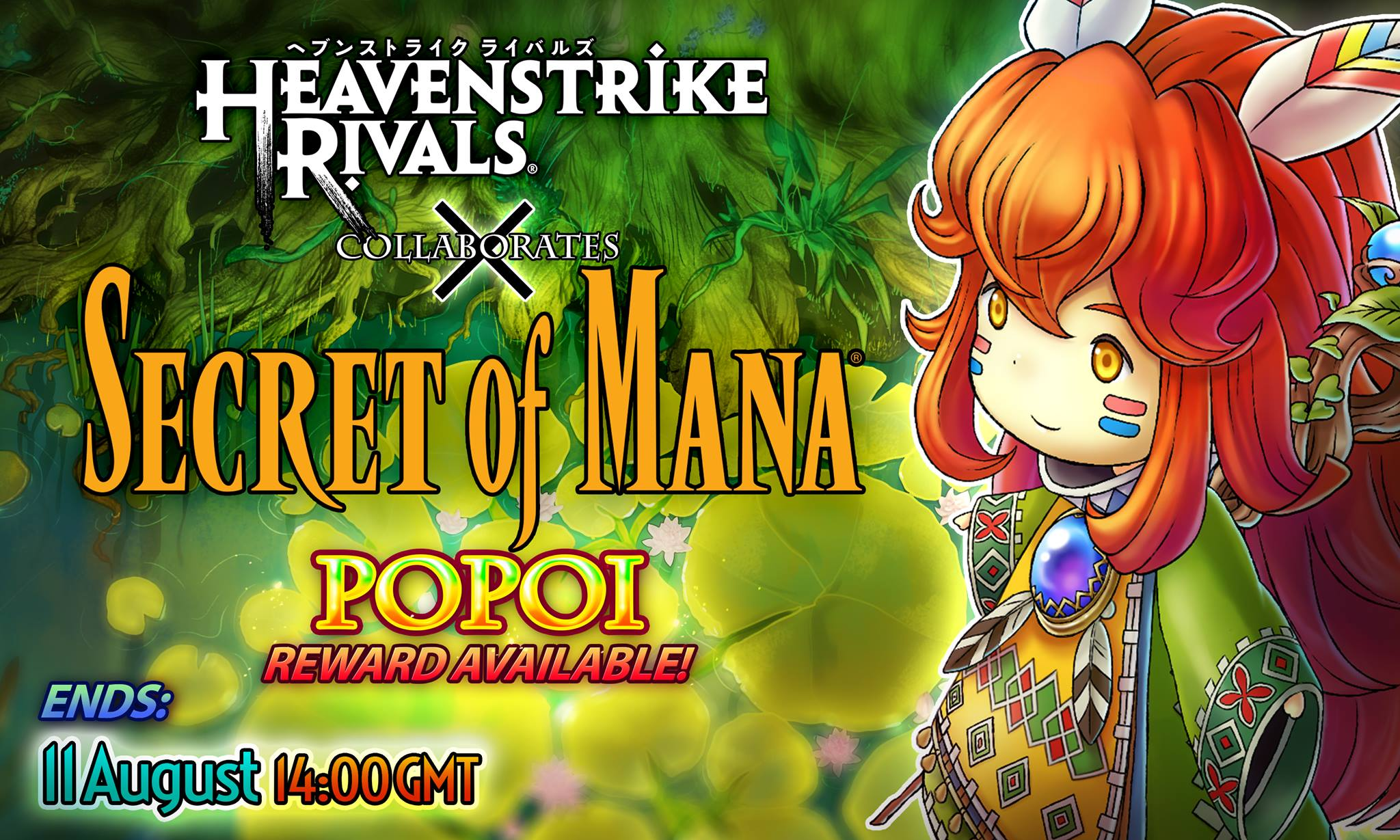 New Heavenstrike Rivals crossover event lets you unlock Secret of Mana characters