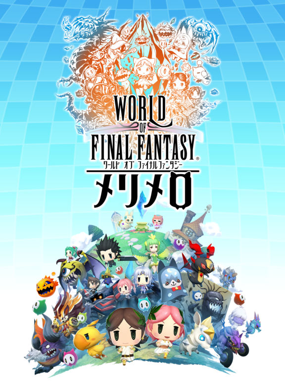 World of Final Fantasy: Meli Melo is available now on iOS in Japan