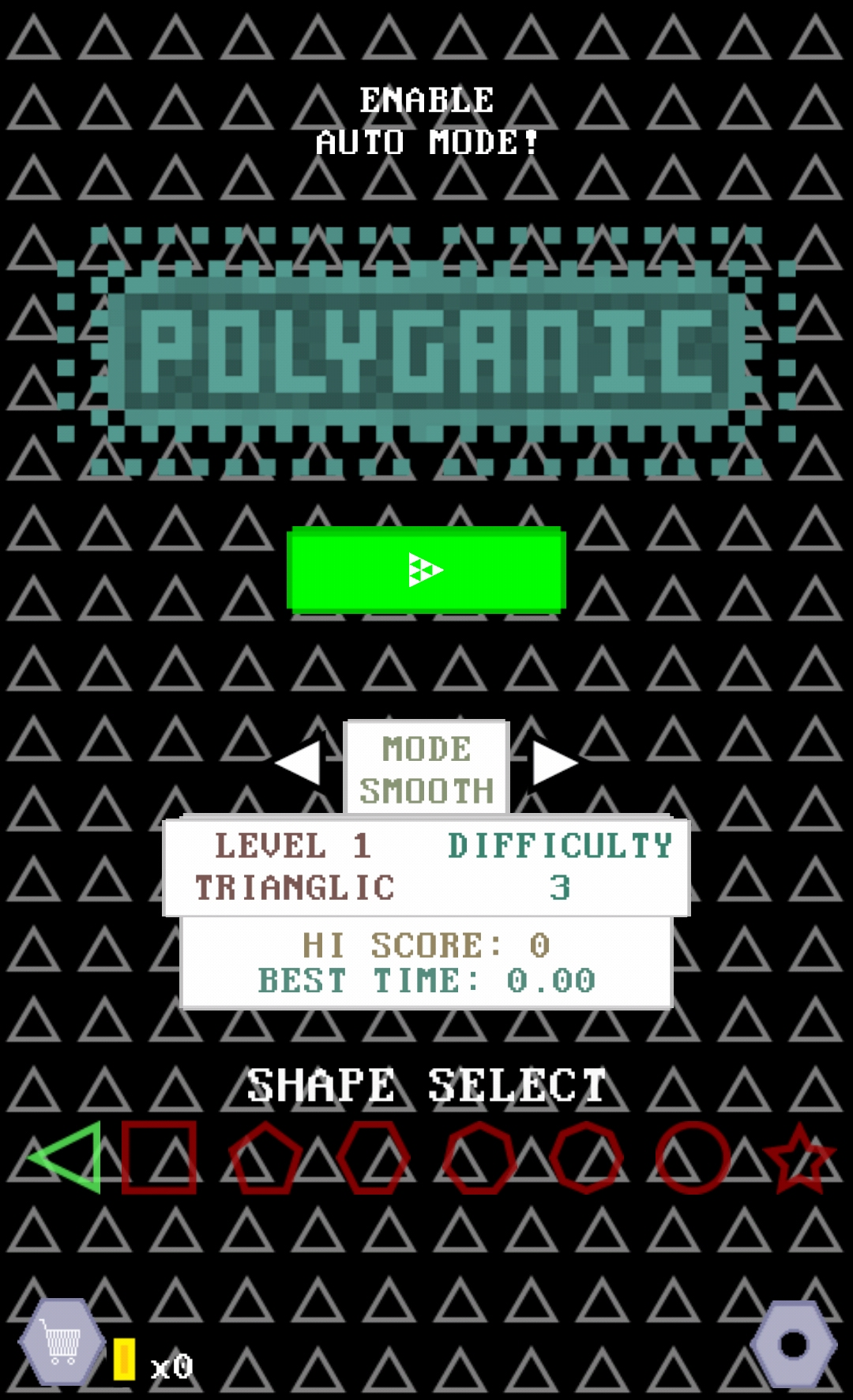 Polyganic, the endless arcade dodge 'em up and BIP winner, comes out next week