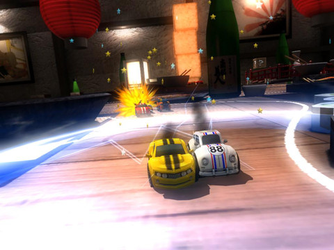 Jump behind the wheel in Bronze Award-winning Table Top Racing for free