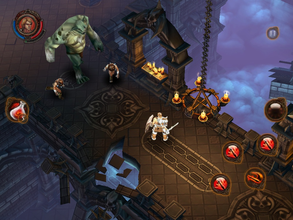Gameloft unveils first screenshots for Diablo-killer Dungeon Hunter 3 for iOS and Android