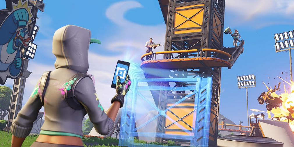 Fortnite's taking a page out of Minecraft's book with its new Creative mode