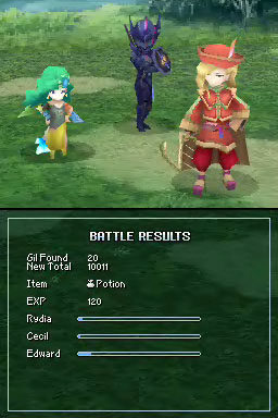 Square Enix will release Final Fantasy IV on iOS on December 20th, on Android in 2013