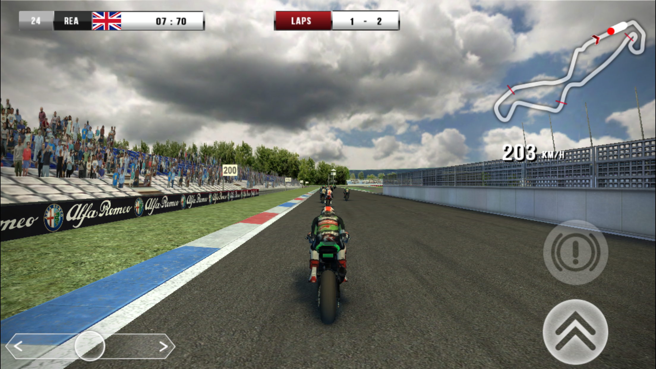 SBK16 is a satisfying bike racer - provided you can overcome one thing