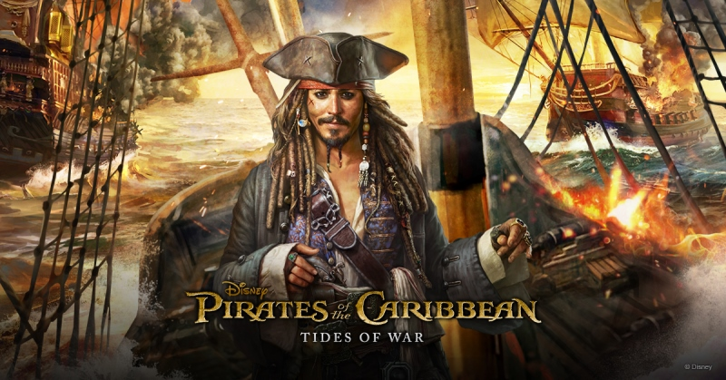 [Update] The sea-sailing MMO, Pirates of the Caribbean: Tides of War is out now on iOS and Android