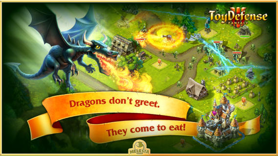 Journey to a magical 10th-century kingdom and thwart goblins and dragons in tower defence title Toy Defense 3: Fantasy [Sponsored]