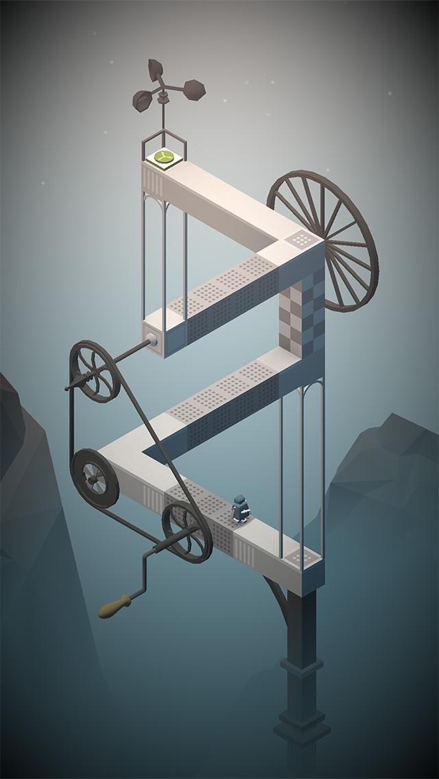 Navigate Escher-inspired levels, evade traps, and dodge bosses in steampunk puzzler Dream Machine