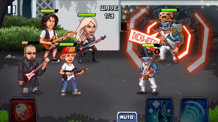 Bill and Ted's Wyld Stallyns is out now on mobile