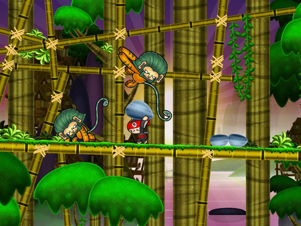Gamerizon looks to raise the bar with all-action, all-social freemium Chop Chip Ninja World