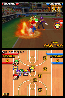 Mario Slam Basketball (aka Mario Hoops 3-on-3)